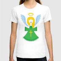 angel T-shirts featuring Angel by Wharton