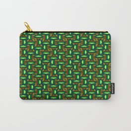 Sawtooth Pattern Carry-All Pouch
