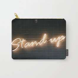 Stand Up Sign Carry-All Pouch