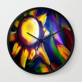 Look at the bright side Wall Clock