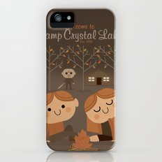 welcome to camp crystal lake Slim Case iPhone (5, 5s)