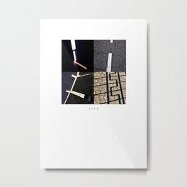 L I F E Metal Print