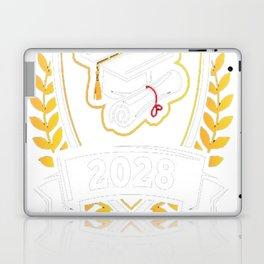 Class-of-2028---Class-of-2028-Graduation-T-Shirt---Sao-chép Laptop & iPad Skin