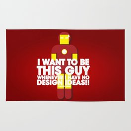 I want to be this guy - Ironman Rug