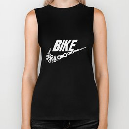 Bike Chain Links Swoosh Short Sleeve Gildan Tee Bmx Road Bicycle T-Shirts Biker Tank