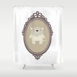 sweet wolf Shower Curtain