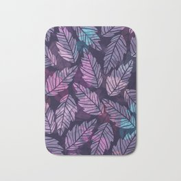Colorful leaves II Bath Mat