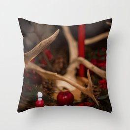 Winter Soltice Throw Pillow