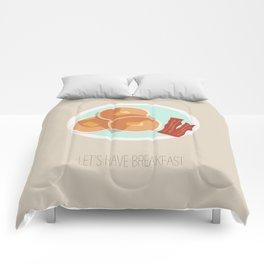 Pancake Breakfast Comforters