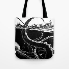 Kraken Rules the Sea Tote Bag
