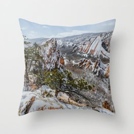 Roxborough State Park, Colorado Throw Pillow