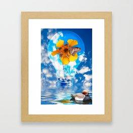 Flowering Bulb Framed Art Print