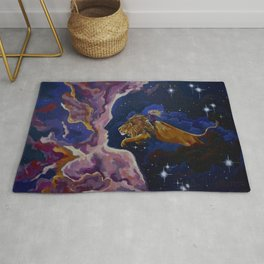 Lily the Lionhearted Rug
