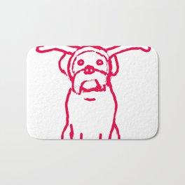 Scamp The Reindeer Dog Bath Mat