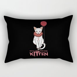 We All Meow Down Here. - Gift Rectangular Pillow