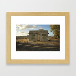 """""""Earth is the loneliest planet of all"""" Framed Art Print"""