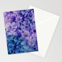 Hibiscus Flower Pattern Stationery Cards