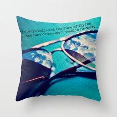 Aviator  Throw Pillow