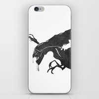xenomorph iPhone & iPod Skins featuring The Queen Alien by DWatson