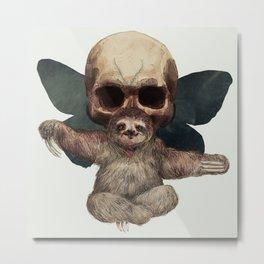 Sloths, Goths, and Moths Metal Print