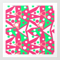 Hot Pinkness Art Print