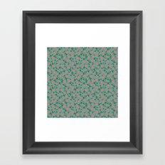 Tossed Lotus Framed Art Print