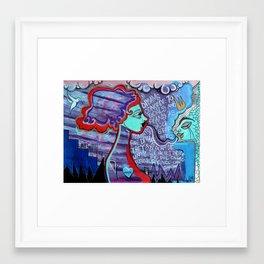 Dream Believer Framed Art Print