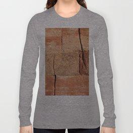 Ancient Sandstone Wall Long Sleeve T-shirt