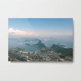 Travel Series: Rio de Janeiro Metal Print