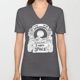 Major Spaceman Unisex V-Neck