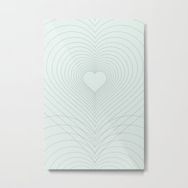 Love Heart Pattern #society6 #love #buyart Metal Print
