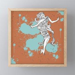"""""""Joyful in Hope"""" Framed Mini Art Print"""