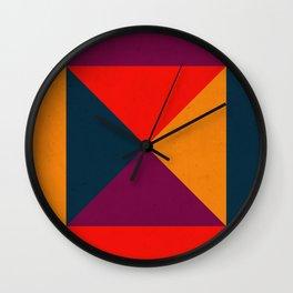 Geometric abstract Wall Clock
