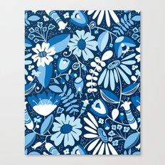 Annabelle - Blues Canvas Print