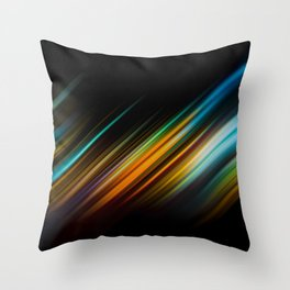 Taxi drive NY Throw Pillow