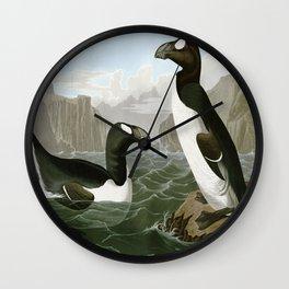 Pinguinus Impennus Wall Clock