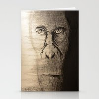 ape Stationery Cards featuring Ape  by Shuchita
