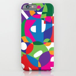 Letter land iPhone Case