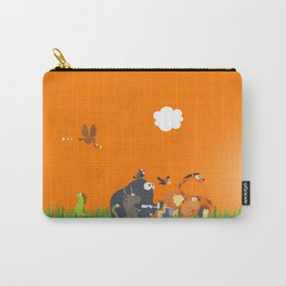What's going on in the jungle? Kids collection Carry-All Pouch