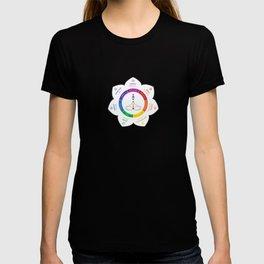 7 Chakra Lotus Flower Art T-shirt