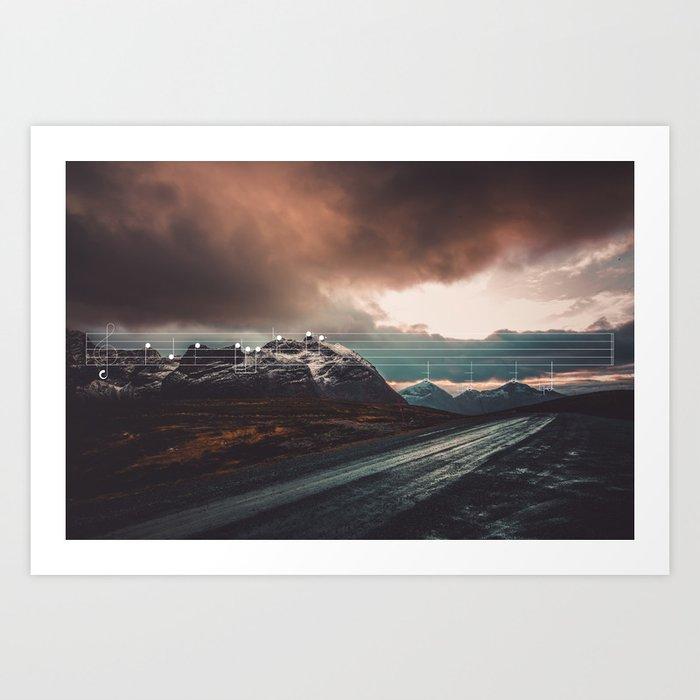 Mountain Melodies - 06 Art Print