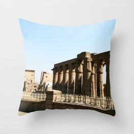 Temple of Luxor, no. 30 Throw Pillow