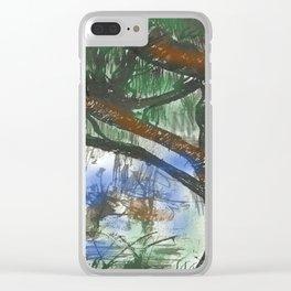 Bosque Clear iPhone Case