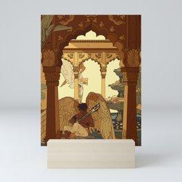 Angels in Oasis Mini Art Print
