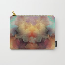 Soft Flowers Impressions Carry-All Pouch