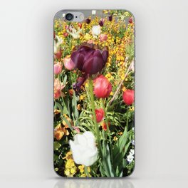 Flower Schadows iPhone Skin