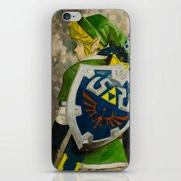 Zelda: Link Oil Painting iPhone Skin