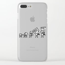 March for Science Clear iPhone Case