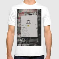 WWJEJD? MEDIUM Mens Fitted Tee White