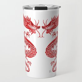 Chinese Dragon – Crimson Palette Travel Mug